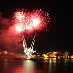 Malta e i 'giggifogu', splendore pirotecnico