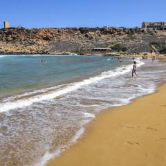 Le spiagge di sabbia a Malta