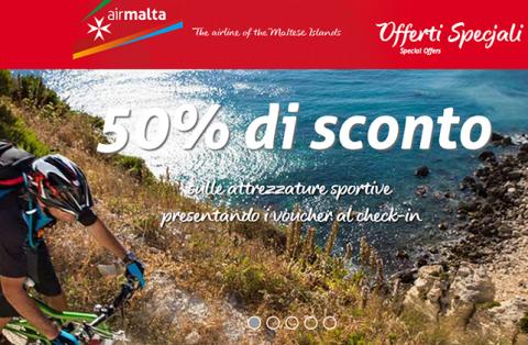 Sport a Malta con la promo Air Malta