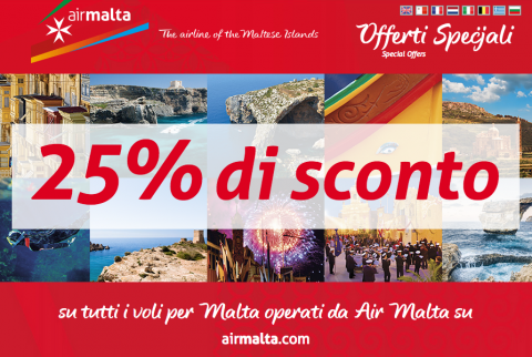 Vola a Malta a partire da 52€
