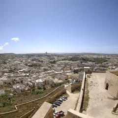 Cittadella e la sua antica prigione a Gozo
