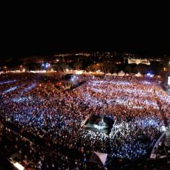 Jess Glynne sul palco di Isle Of MTV Malta