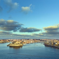 Con un drone alla scoperta di Valletta e del Grand Harbour