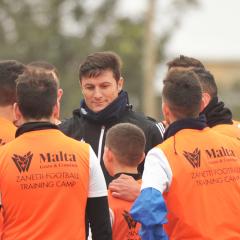 Partecipa ai Football Training Camp con Javier Zanetti a Malta