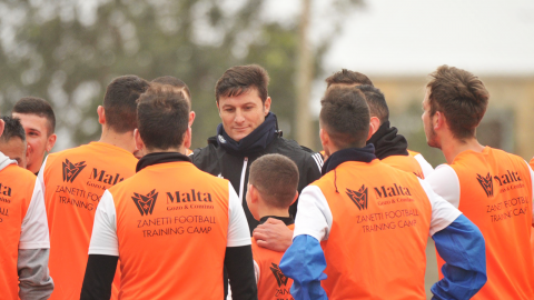 Partecipa ai Football Training Camp con Javier Zanetti a Malta