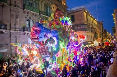 Carnevale a Malta, una festa di colori e musica