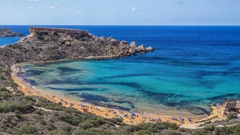Estate 2021, sono 11 le spiagge Bandiera Blu a Malta