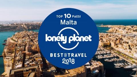 Best in Travel 2018: Malta tra le 10 destinazioni da non perdere per Lonely Planet