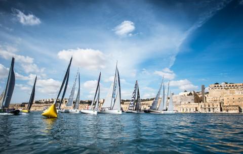 Rolex Middle Sea Race, la grande vela a Malta