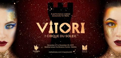 Vitori, il Cirque du Soleil sbarca a Malta