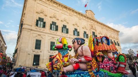 Carnevale a Malta, una festa dai mille colori