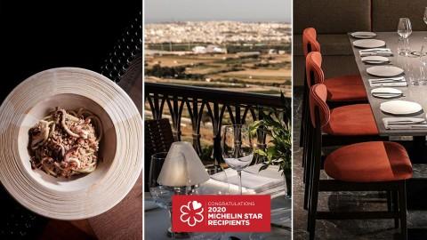 Tre ristoranti di Malta premiati con la Stella Michelin