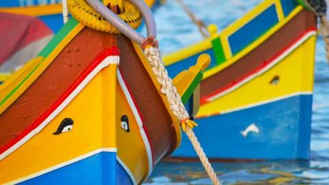 Perché le barche di Malta hanno gli occhi?