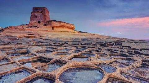 I paesaggi unici delle saline di Malta