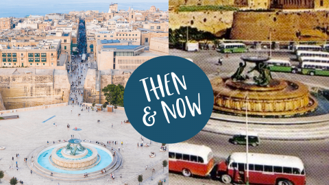 Valletta Then & Now, un viaggio nel tempo