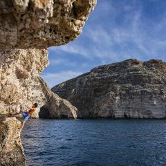 Arrampicare a Malta, un'intervista a Massimo Cappuccio