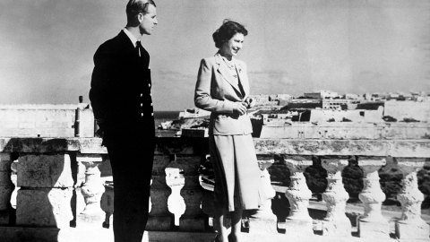 A Malta ricordando il Duca di Edimburgo