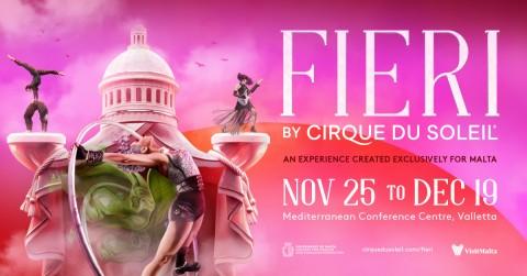 Il Cirque du Soleil a Malta con un nuovo spettacolo