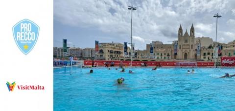 La Pro Recco Pallanuoto in ritiro a Malta