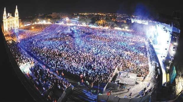 Isle of MTV in Malta