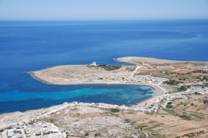 Veduta aerea di Malta