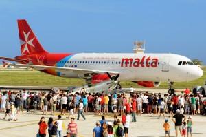 Air Malta, aeroporto di Malta