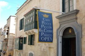 Casa Rocca Piccola, palazzi storici, Malta
