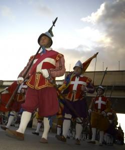 In Guardia Parade, ponte di Ognissanti, Malta