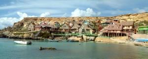 Popeye Village, ponte di Ognissanti, Malta