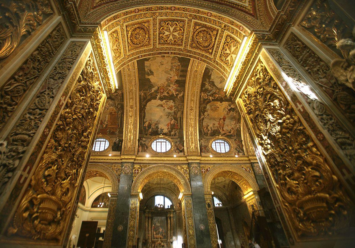 Visita guidata alla concattedrale di San Giovanni a Valletta