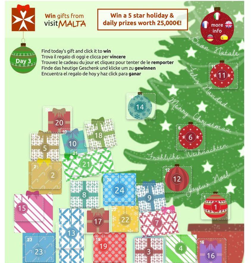 Natale a Malta, concorso Regali da Malta
