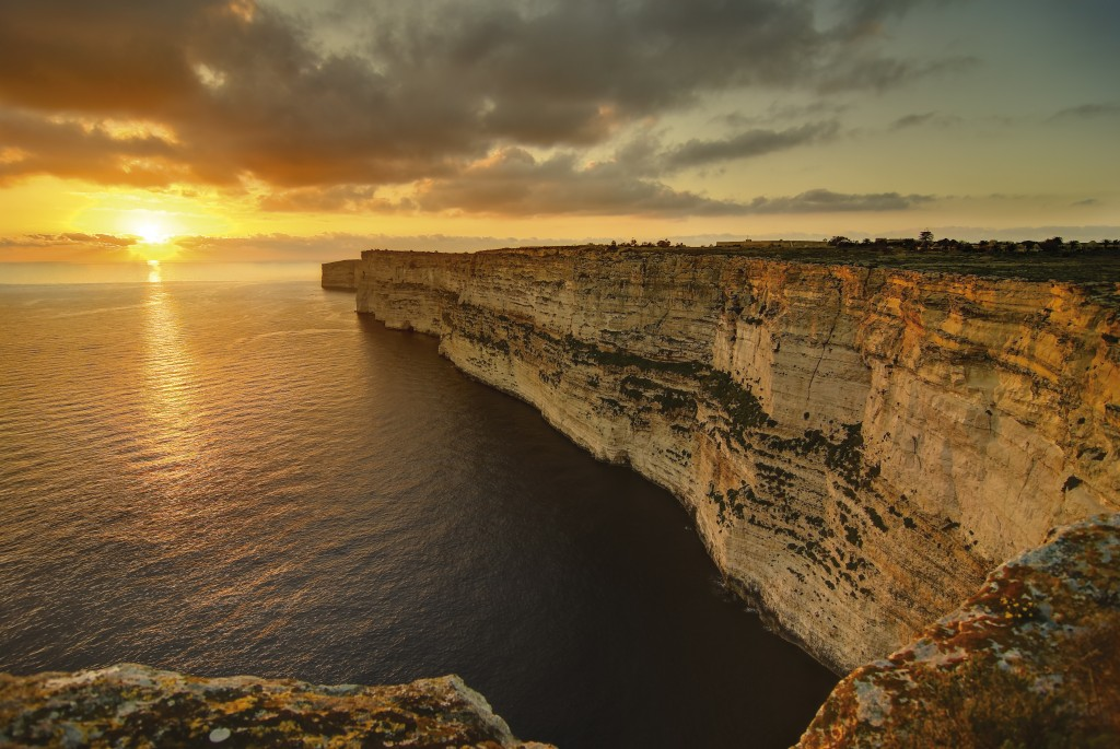 Dingli cliffs, Malta, San Valentino