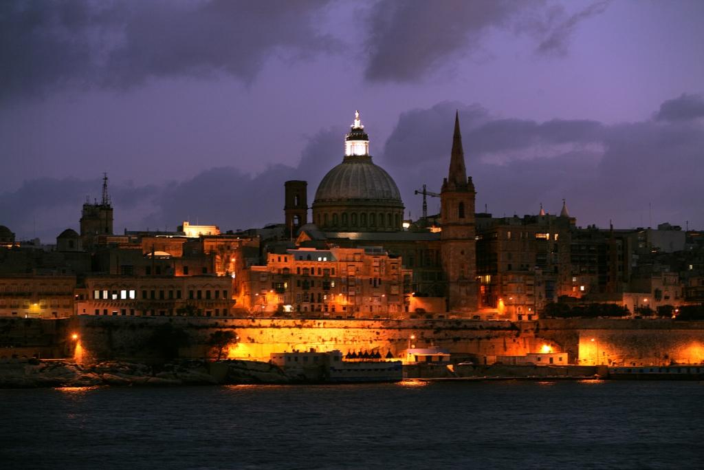 Storia di Malta, Valletta