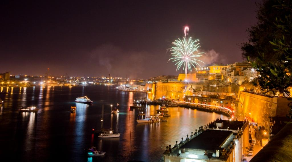 Malta International Fireworks Festival, fuochi d'artificio, Malta