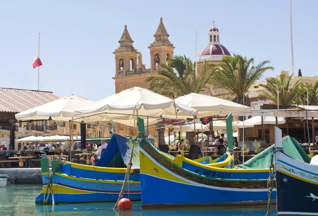 Luzzi, imbarcazione tradizionale, Malta