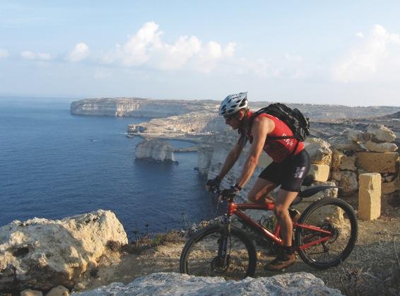 Itinerari in bicicletta e trekking a Malta