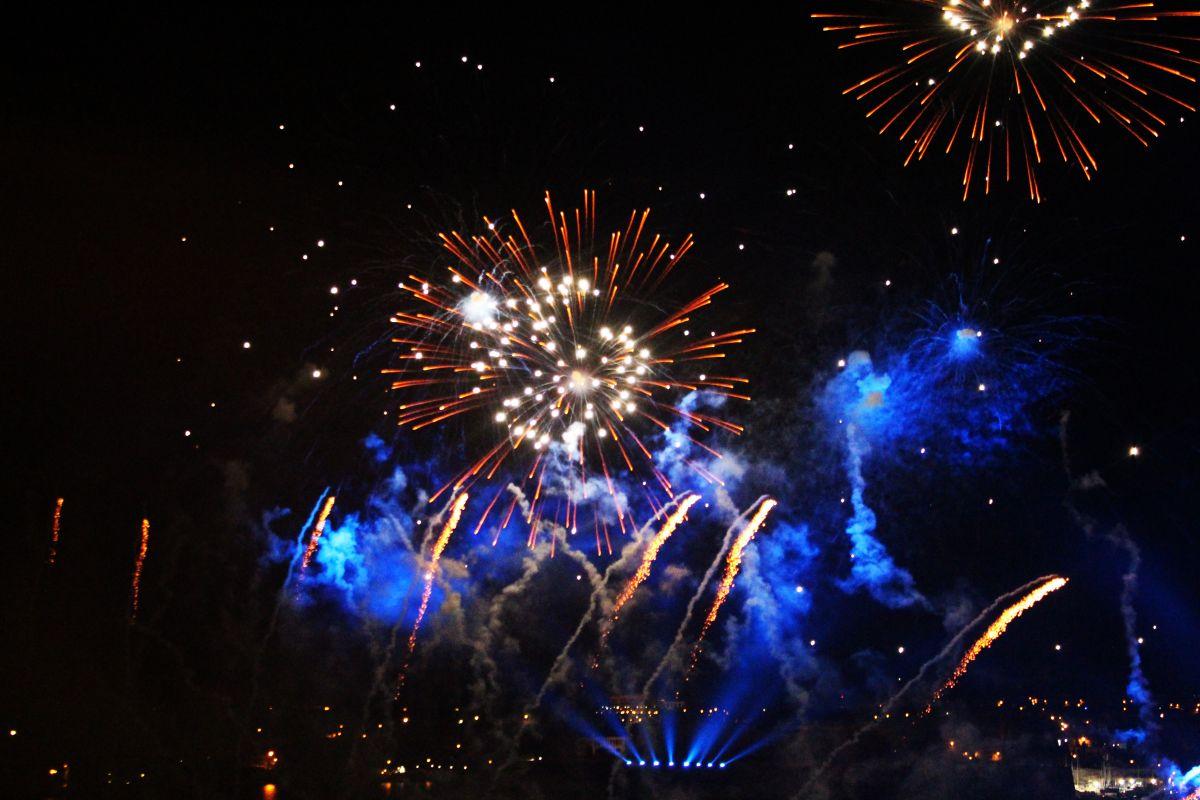 Fuochi d'artificio a Malta: il racconto di Silvia