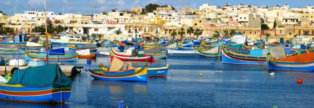 Baia di Marsaxlokk, Malta blog tour