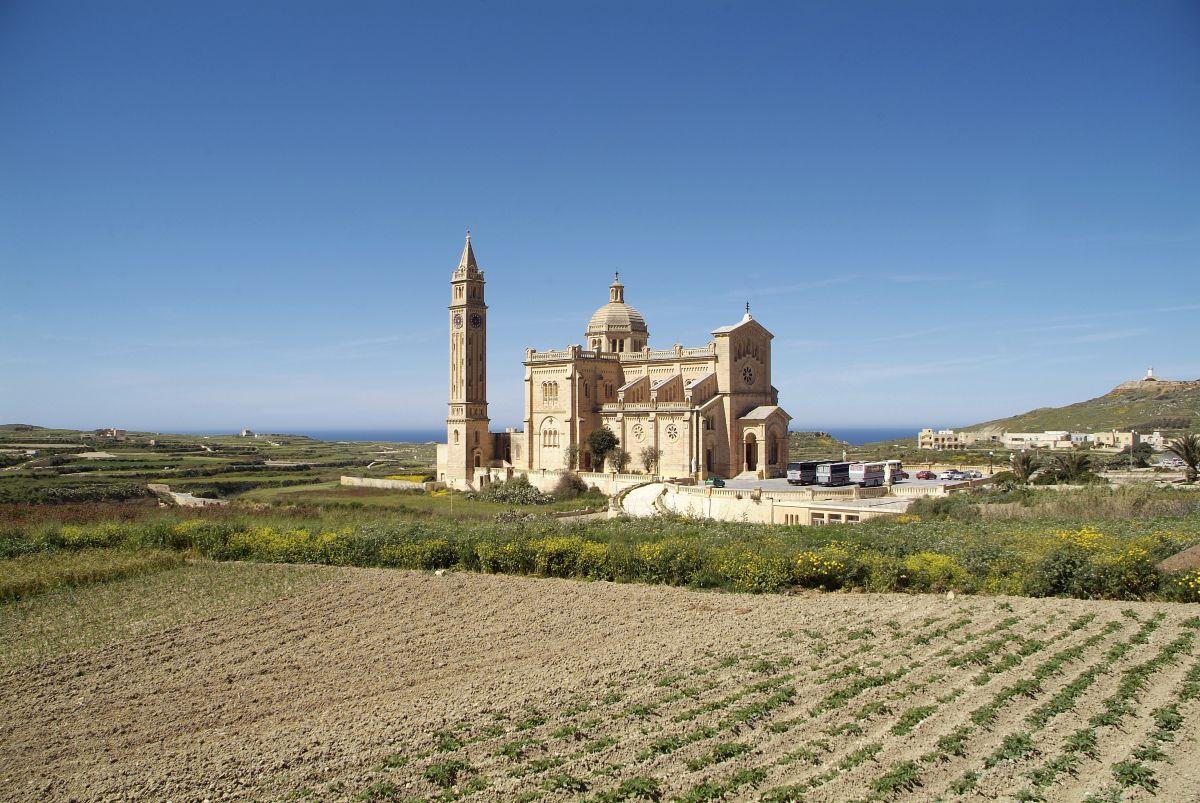 Basilica di Ta' Pinu, Gozo, Malta