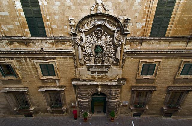 Auberge D'Italie, MUZA, Malta