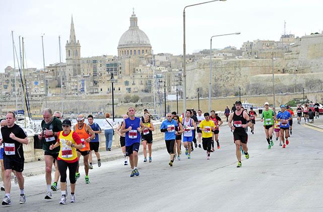 Vodafone Malta Marathon 2015