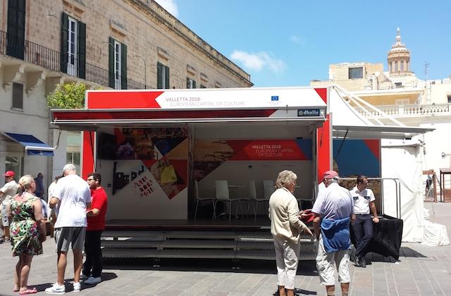 Una nuova unità mobile dedicata alla cultura a Malta