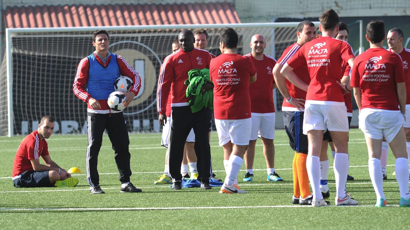 Zanetti Training Camp, un'esperienza da campioni a Malta