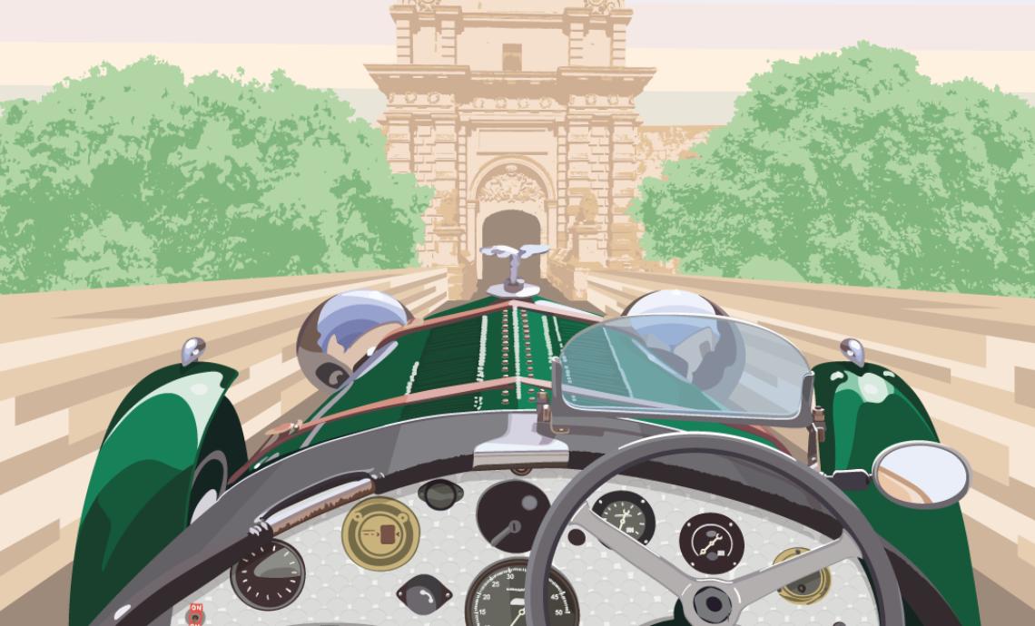 Malta Classic 2017, le auto d'epoca invadono le vie dell'arcipelago