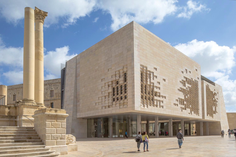 Valletta-Renzo-Piano-Malta