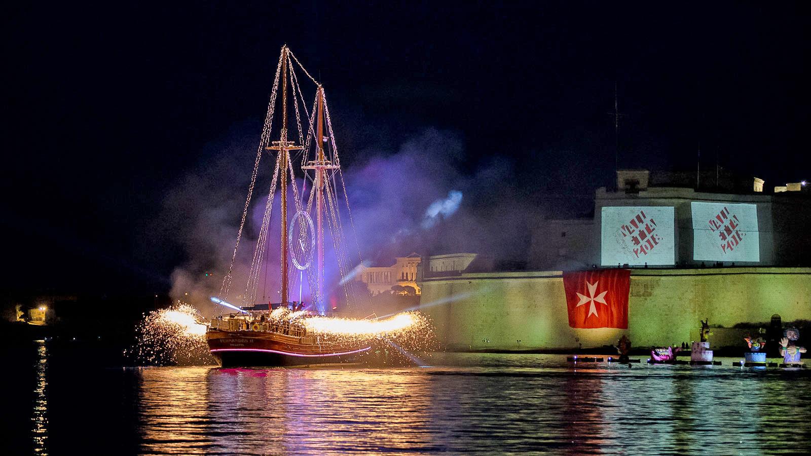 Pageant of the Seas, una giornata di festa nel Grand Harbour di Valletta
