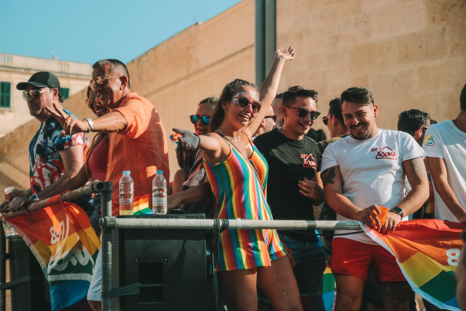 Il Pride a Malta, una festa nel cuore di Valletta