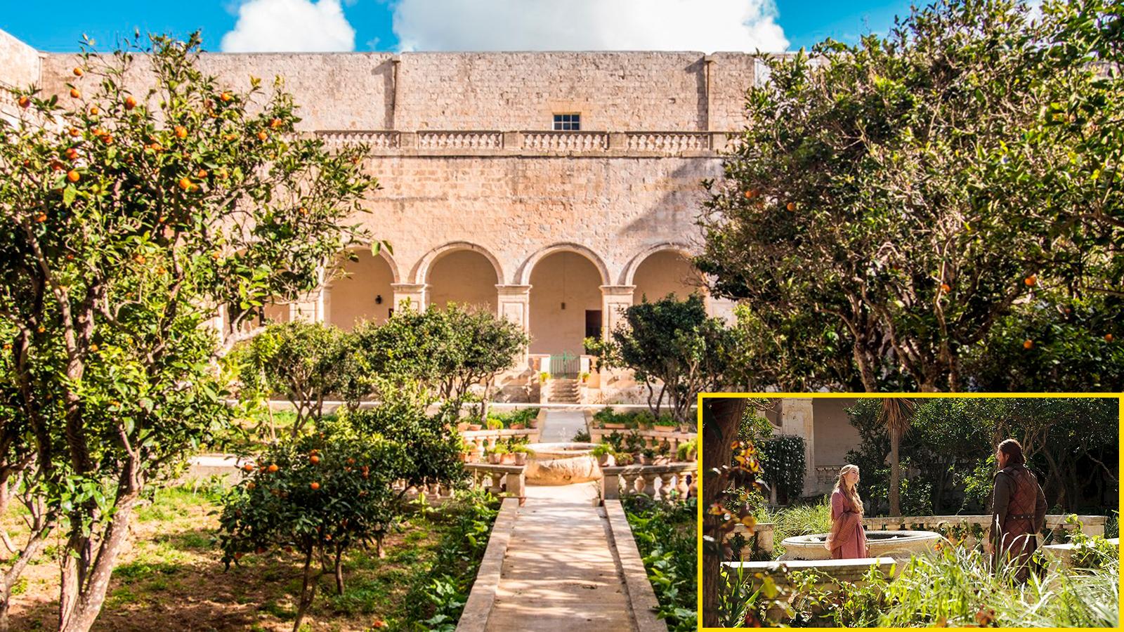 Trono-di-spade-Convento- Malta