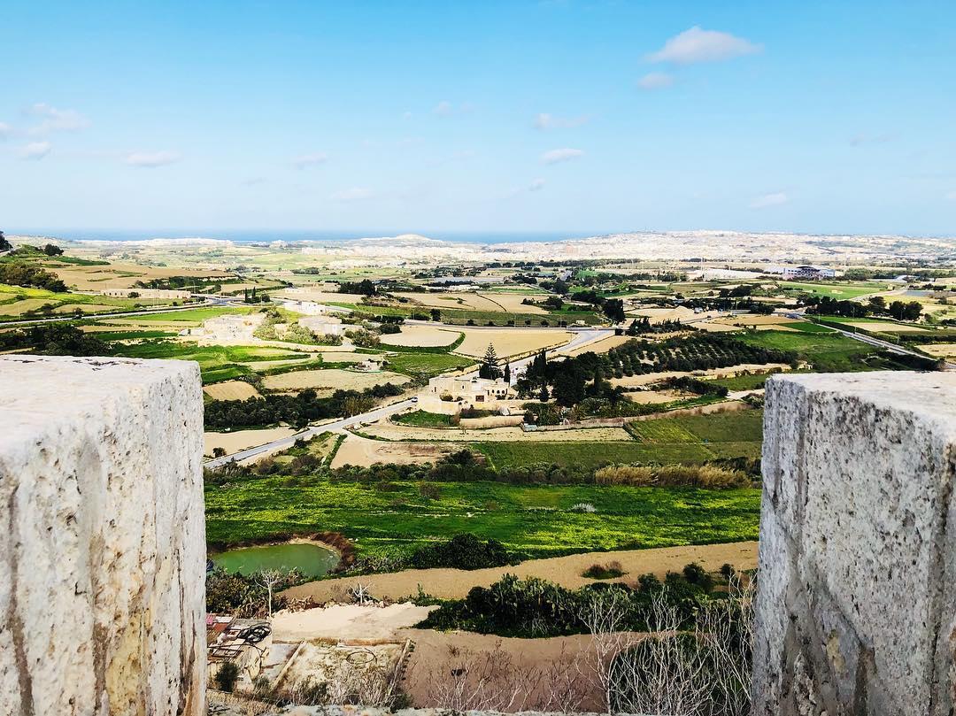 mdina view malta