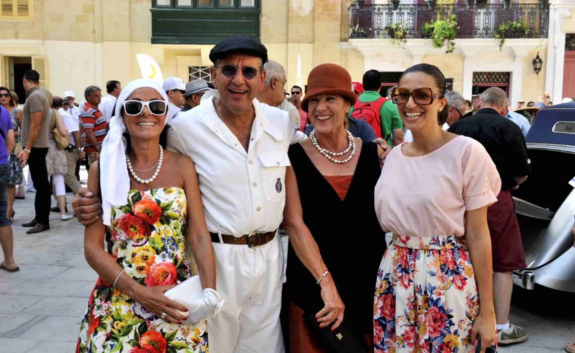 malta classic people